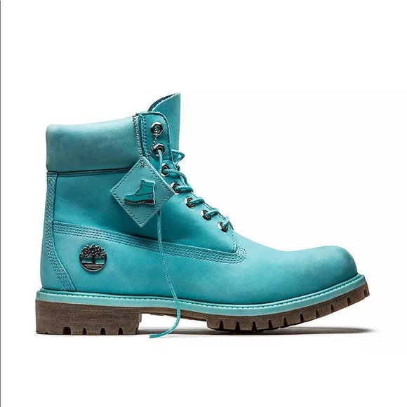 Timberland men s 13 baby blue fire   water boots bd3e37766